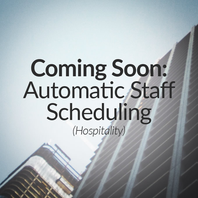 Automatic Staff Scheduling