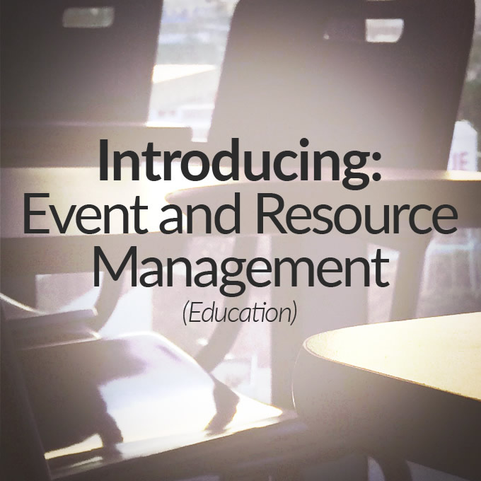 Education Event and Resource Management