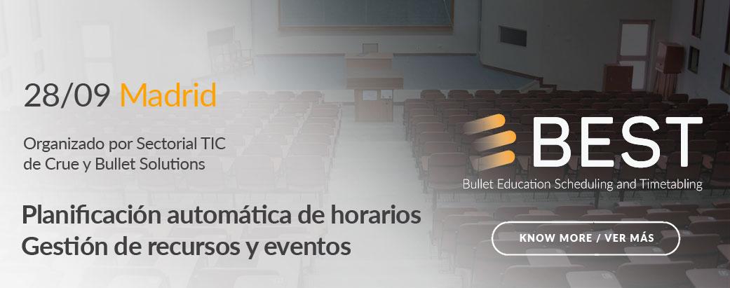 BEST Madrid Event