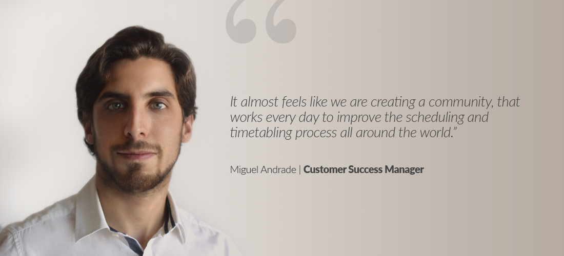 Miguel Andrade Customer Success Manager Quote